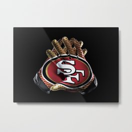 San Francisco Gloves Metal Print