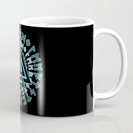Valknut   Viking Warrior Symbol Triangle Coffee Mug