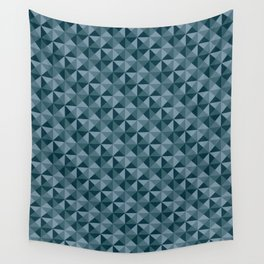 Blue Quartet Wall Tapestry