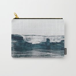 Glassy Blues Carry-All Pouch