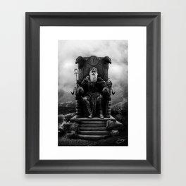 IV. The Emperor (Version II) Framed Art Print
