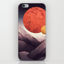 An unknown world iPhone Skin