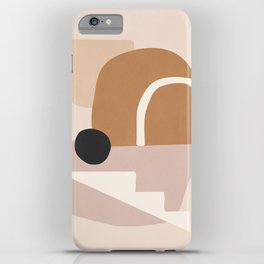 abstract minimal 24 iPhone Case