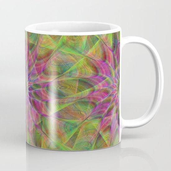 Fractal pattern Mug