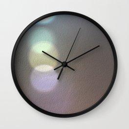 Light Prism Reflection Photo Art Design Wall Clock