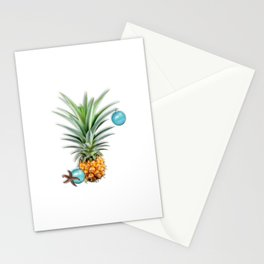 Christmas Pineapple Stationery Cards