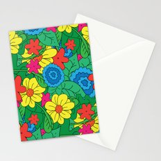 Vector Flowers Stationery Cards