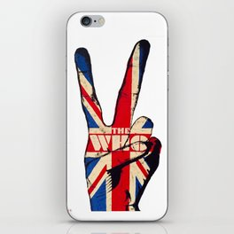 The Who Peace iPhone Skin