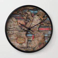 Distress World Wall Clock