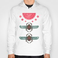stargate Hoodies featuring Scarabs by Hector Mansilla