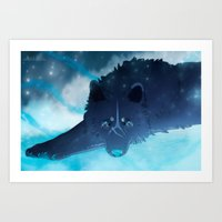 Ice Guardian Art Print