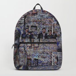 All nearby gentrification effects linger shiftily. Backpack