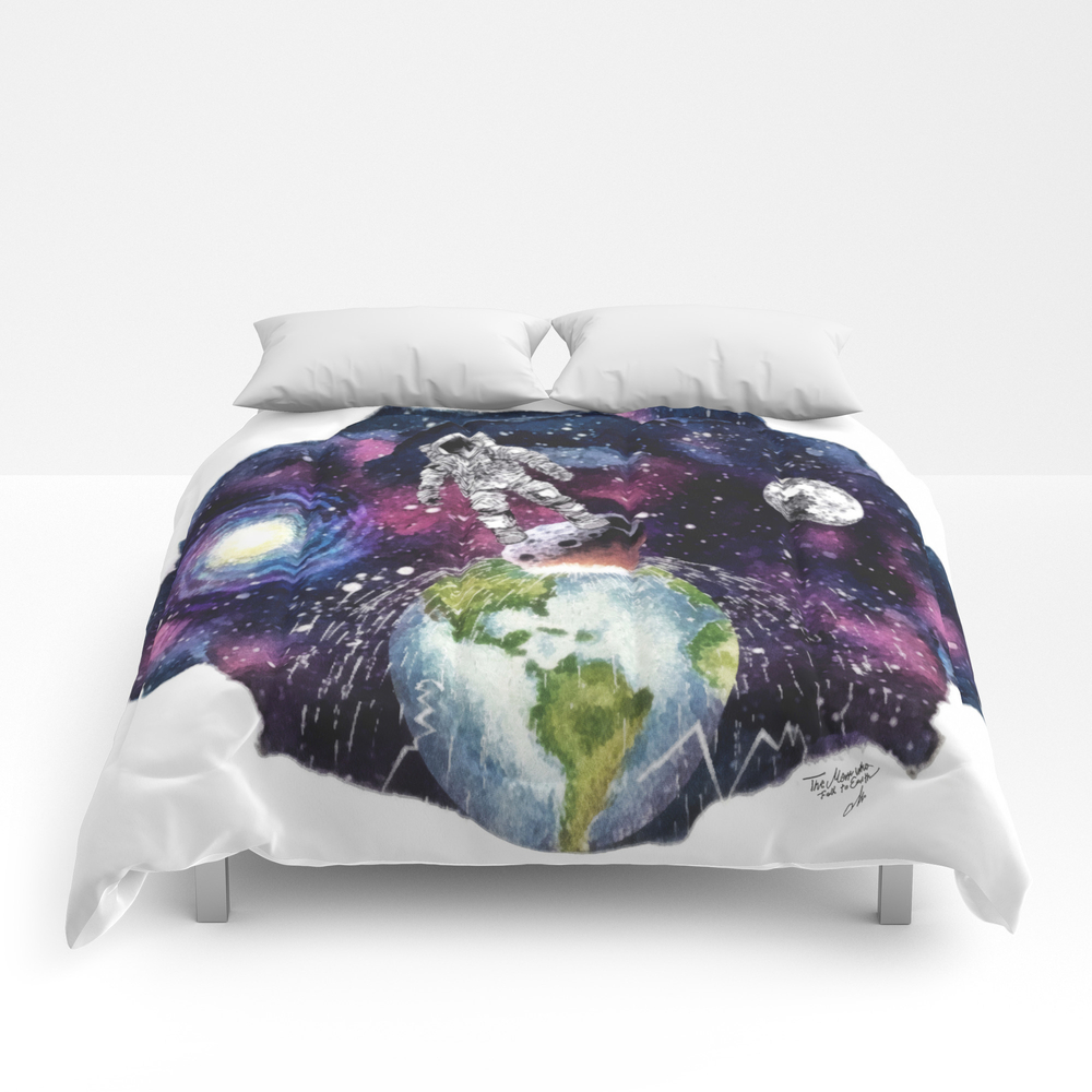 The Man Who Fell To Earth Comforter by Mot CMF8783861