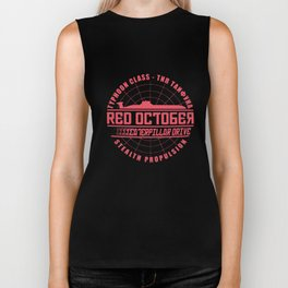 The Hunt For Red October Movie Themed Retro Hunt T-Shirts Biker Tank