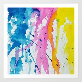 New Age Abstract Art Print