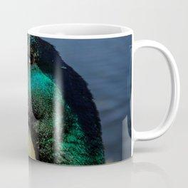 Approach of a duck head. Coffee Mug