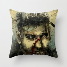 Lame Brain Shane Throw Pillow