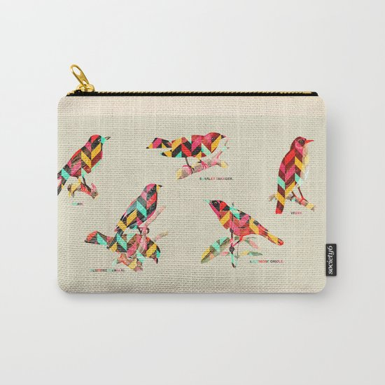 Song Birds Carry-All Pouch