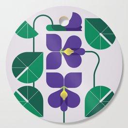 Blue Violet Cutting Board
