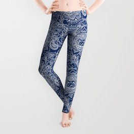 Paisley Pug Leggings