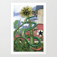 Dragons Unseen  Art Print