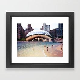 Chicago vs. Dubrovnik Framed Art Print