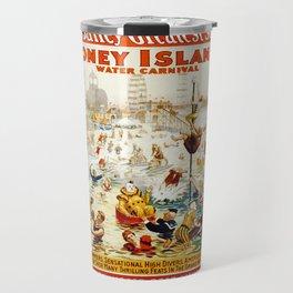 Vintage poster - Circus Travel Mug