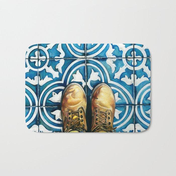 Art Beneath Our Feet - Mexico City Bath Mat