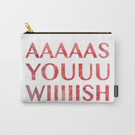As You Wish Princess Bride Carry-All Pouch