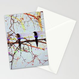 Multi Magpie Stationery Cards