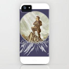 La Mélenchcolie iPhone Case