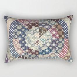 Playing with circles II Rectangular Pillow