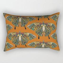 swallowtail butterfly copper Rectangular Pillow