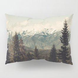 Snow capped Sierras Pillow Sham