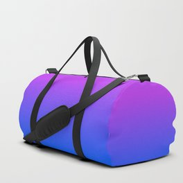 Fuchsia/Violet/Blue Ombre Duffle Bag