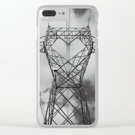 electric sheep Clear iPhone Case