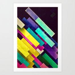 cmyyyyk Art Print
