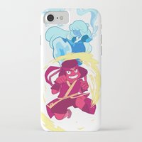 the last airbender iPhone & iPod Cases featuring Steven Universe x Avatar The Last Airbender by Matereya