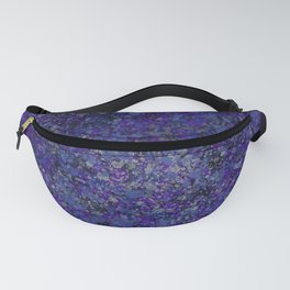 Dark Speckles - Purple Fanny Pack