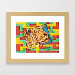 Lion In Zion #1 Framed Art Print
