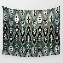 Pierrot II/Memoir Pattern Wall Tapestry