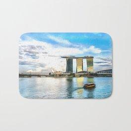 Hotel Marina Bay Sands and ArtScience Museum, Singapore Bath Mat
