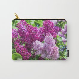 Fragrant lilac bush. Carry-All Pouch