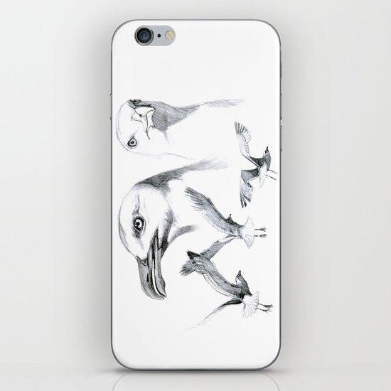 Great Black-backed Gull - Larus marinus   SK043 iPhone & iPod Skin