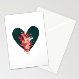 Feelings (Green) Stationery Cards