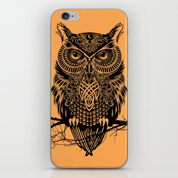 Warrior Owl 2 iPhone Skin