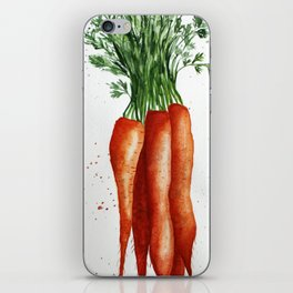 Carrots iPhone Skin