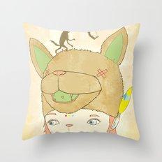 왕좌의 귀환 : RETURN OF THE THRONE Throw Pillow