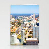 atlanta Stationery Cards featuring Atlanta Downtown by GF Fine Art Photography