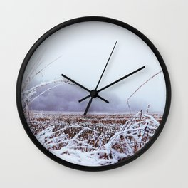 Field Mouse Perspective Wall Clock